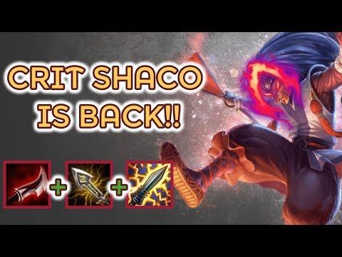 Shaco Jungle Road Back To Diamond [League Of Legends] Season 9 - Infernal Shaco