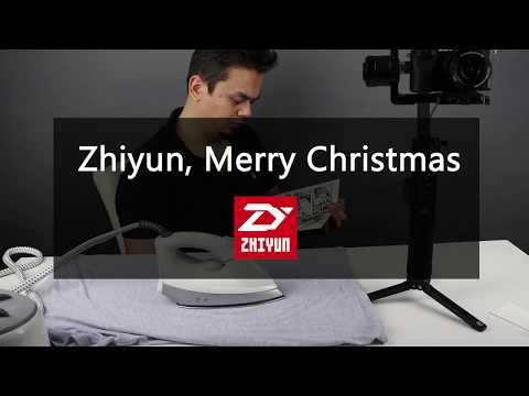 Zhiyun Crane 2 : How To Make Iron With Your Crane 2 / Zhiyun Merry Christmas