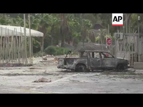 Aftermath of clashes between Libyan militias