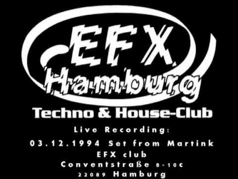 """Live recording: """"EFX CLUB"""" with DJ Martink 03.12.1994"""