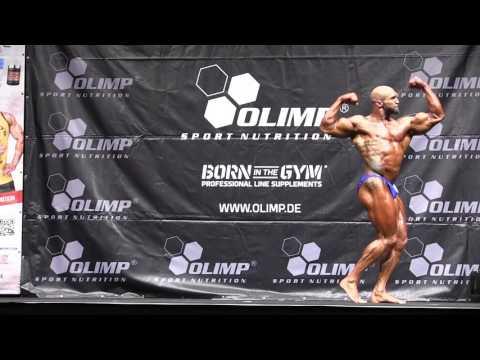 Männer 5 Kür Stan Adam @Int Deutsche Bodybuilding Meisterschaft 2016