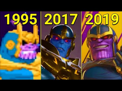 Evolution of Thanos in Games 1995-2019