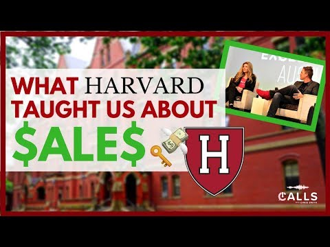 What Harvard Taught Us About Sales | Calls with Chris Smith | Episode 43