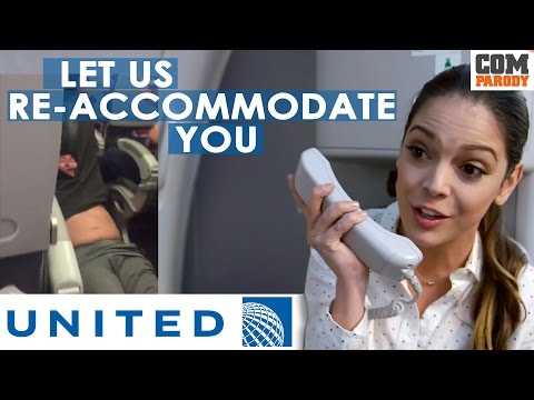 Thumbnail: United Airlines Ad Parody | Let us Re - Accommodate you | #united #putyourbloopersout #2017