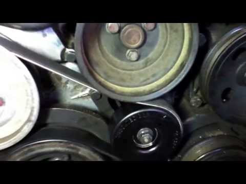 How to replace the serpentine belt and tensioner merc for Mercedes benz serpentine belt replacement