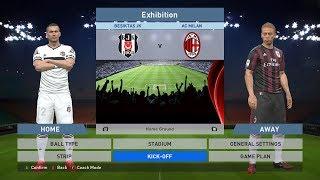 Besiktas JK vs AC Milan, BJK Vodafone Park, PES 2016, PRO EVOLUTION SOCCER 2016, Konami, PC GAME