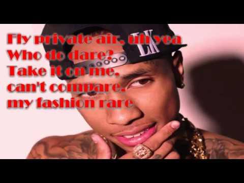 Kid Ink - Iz U Down Ft. Tyga (Lyrics Video)