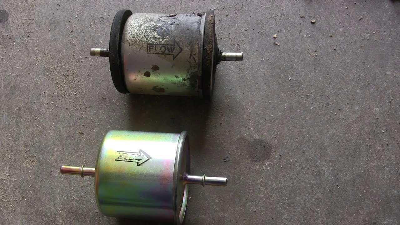 New Fuel Filter For The Crown Victoria - YouTubeYouTube