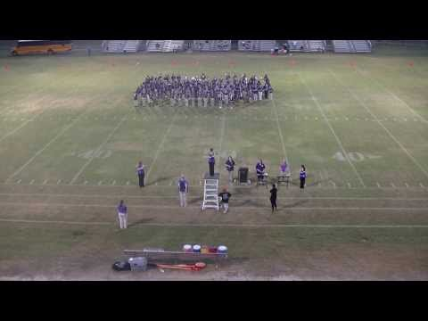 Marianna Middle School Marching Band 9-17-2013
