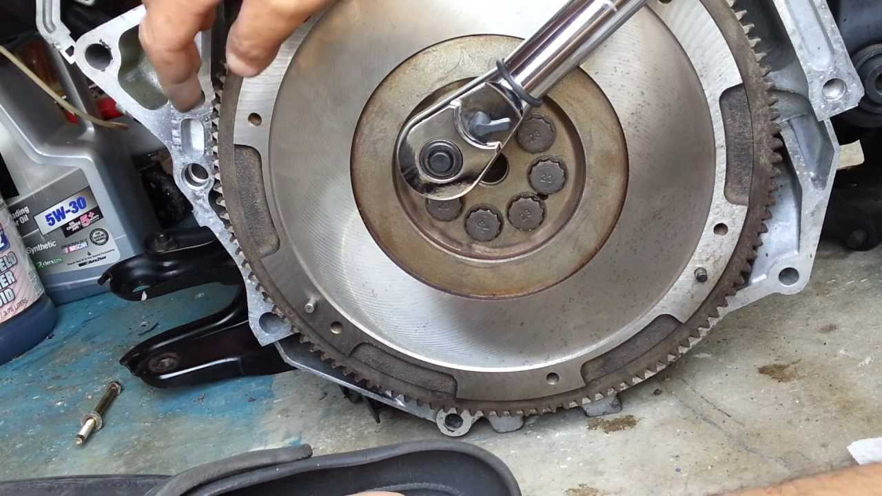 Diy How To Install Flywheel Clutch For Honda Accord Cb7 Winston 2001 Buzon Youtube