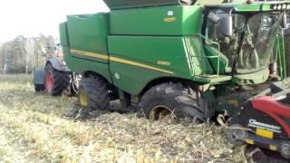 John DEERE S680I kukurydzy i wpadka 2