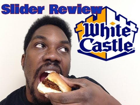 White Castle Sloppy Joe Slider Review