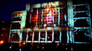 Лазерное шоу в Москве!