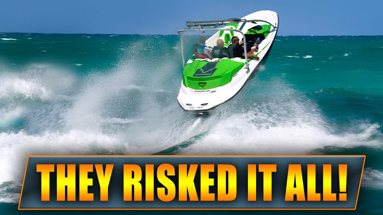 Download THESE GUYS PLAYED A DANGEROUS GAME !! | Boats vs Haulover Inlet | WAVY BOATS