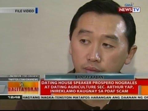 BT: Prospero Nograles at Arthur Yap, inireklamo kaugnay sa PDAF scam