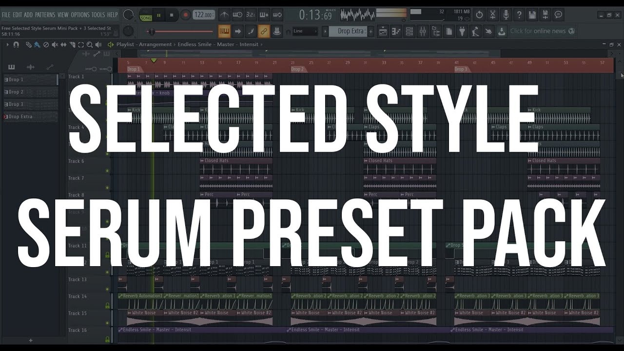 Free Selected Style Serum Preset Pack
