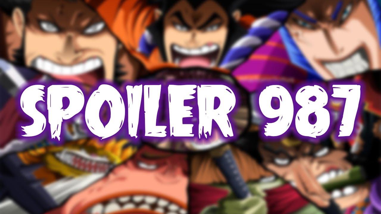 SPOILER OP 987 LENGKAP! JADI INI CHAPTER YG BIKIN EDITOR MENANGIS! - One Piece 987+