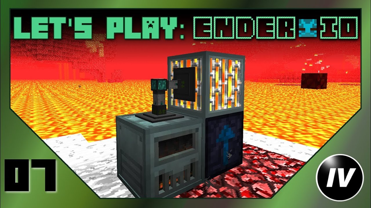 Let's Play Ender IO - Ep 7 - Lava Power!