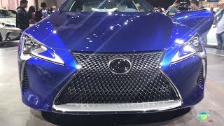 2018 Lexus LC 500 Exterior Walk around LA Auto Show