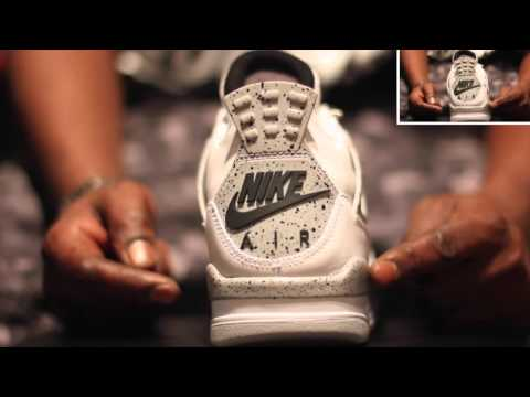 2d31a582a89f2a Air Jordan 4 White Cement 2016 OG Complete Unboxing Review + On Foot!