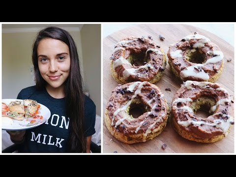What I Ate on a Lazy Sunday + Baked Donut Recipe! (Vegan) | Collab w/ Sweet Potato Soul!