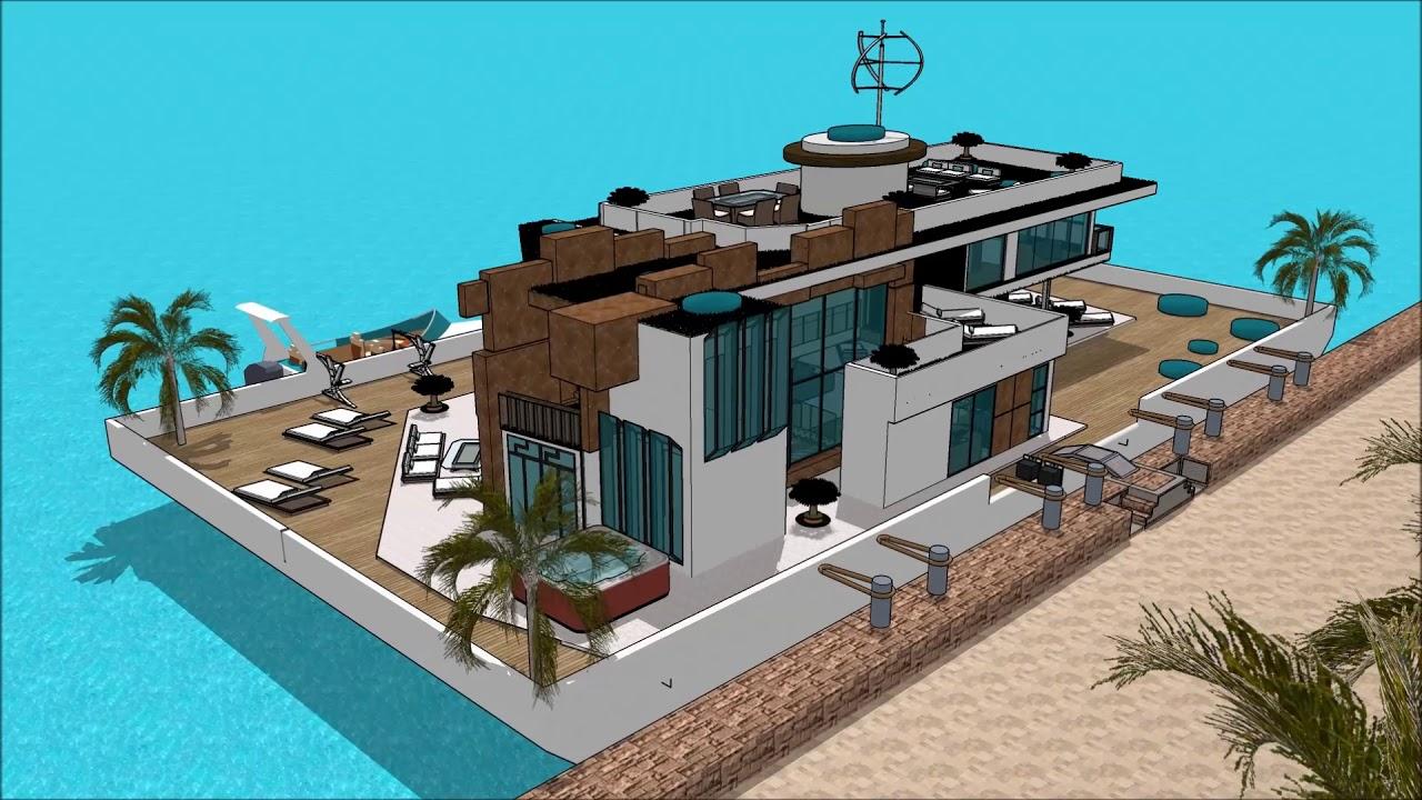 Casa moderna minimalista sims 4 en mexico con piscine for Casa moderna sketchup download