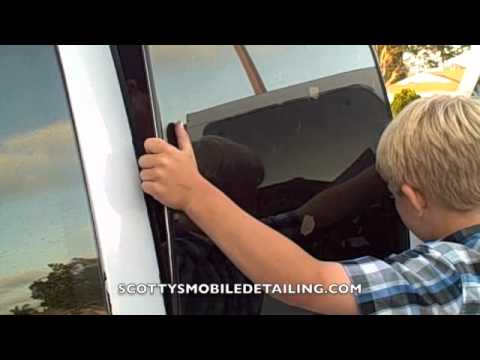 How to remove rear quaterglass windows  YouTube