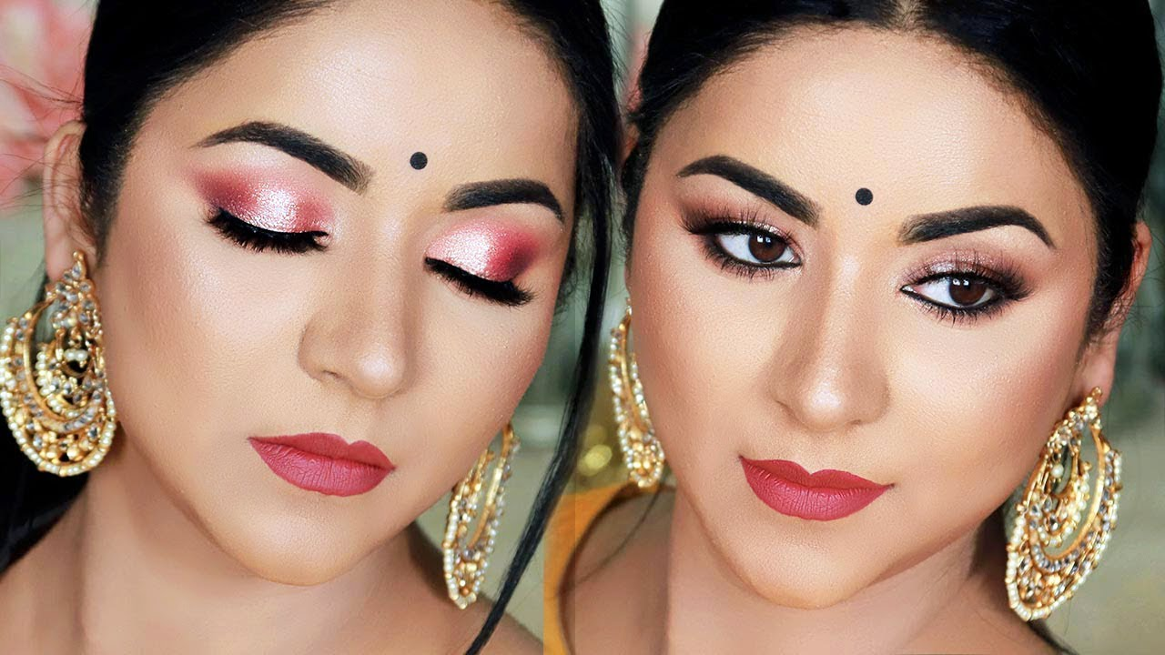 Download Long Lasting Sweat Proof Party/Indian Wedding Guest Makeup Tutorial   Tips & Tricks