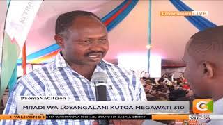 Rais Kenyatta aunganisha umeme Loiyangalani