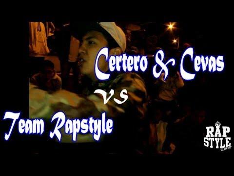 Team Rapstyle vs Certero & Cevas - 1ra Liga Rapstyle Sjl 2vs1 (Fecha 08) 2017