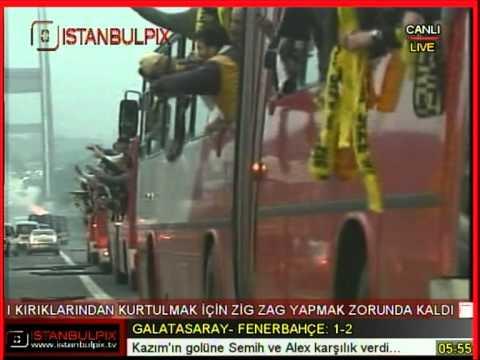 Fenerbahce supporters Fenerbahçe taraftarları Galatasaray ...