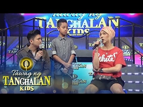 Tawag ng Tanghalan Kids: Vice's love issues