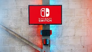 Nintendo Switch Gaming Setup | Wall Mount DIY