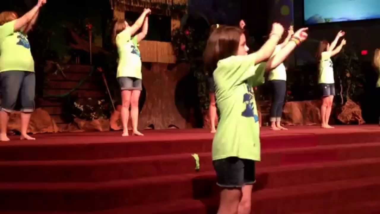 Fbc Allen 2015 Vbs Music Team Jesus Is Our Guide Day 1 Song