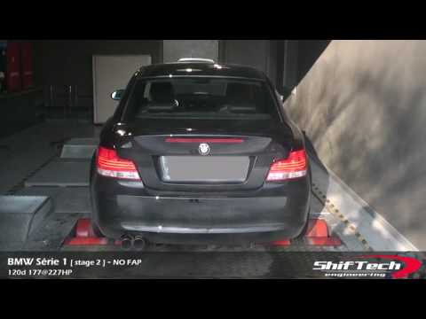 bmw serie 1 120d no fap no dpf stage 2 youtube. Black Bedroom Furniture Sets. Home Design Ideas
