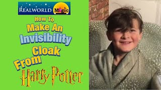 How to make an invisibility cloak from Harry Potter