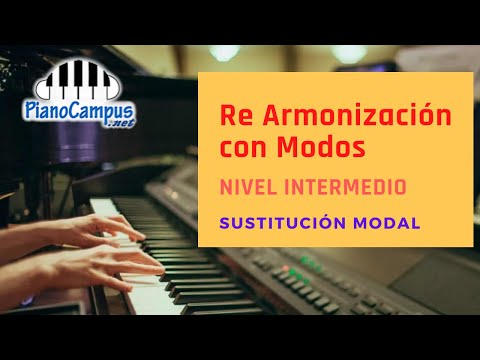 Cómo Utilizar Los Modos Para Re Armonizar Una Melodía En Piano