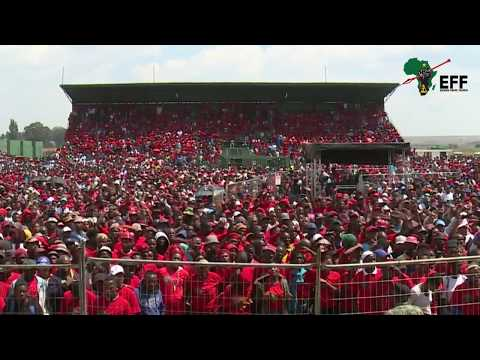 EFF Human Rights Day Rally - Ermelo, Mpumalanga