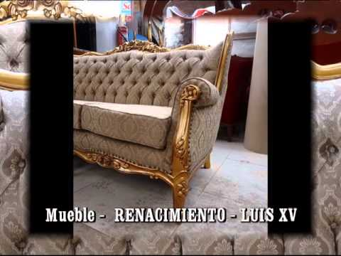 Luis xv muebles jose ramos youtube for Muebles estilo isabelino moderno
