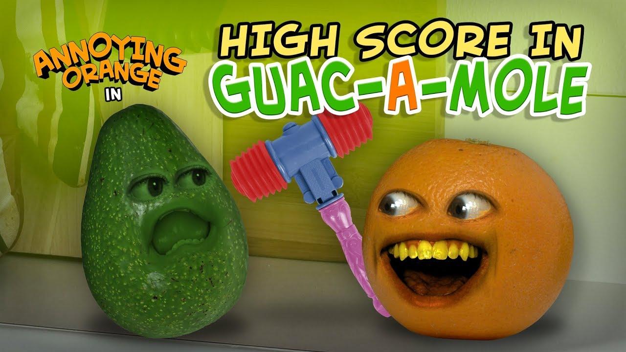 annoying-orange-high-score-in-guac-a-mole