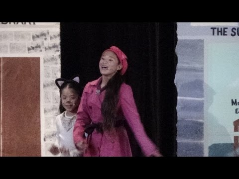 """Yes, Virginia."" The Musical - 2014 Maryknoll Grade School Production, Catherine Mori as Charlotte"