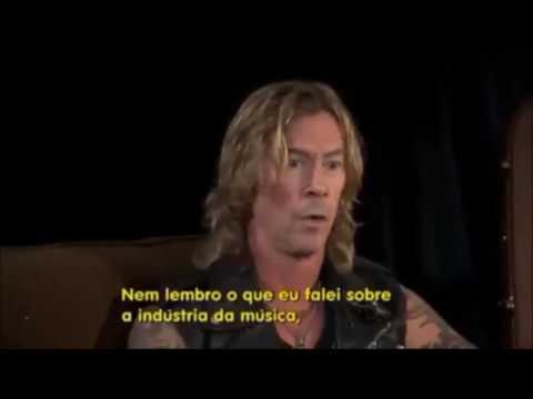 axl rose y duff mckagan entrevista completa subtitulada al español