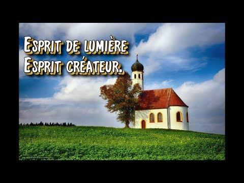 esprit de lumi re esprit cr ateur communaut de l 39 emmanuel chant liturgique karaok n. Black Bedroom Furniture Sets. Home Design Ideas