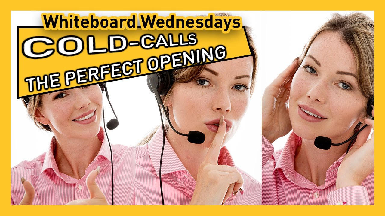 Download THE PERFECT OPENING TO A COLD-CALL | Whiteboard Wednesday