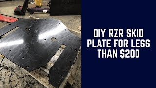 How-To:  DIY RZR Skid Plate