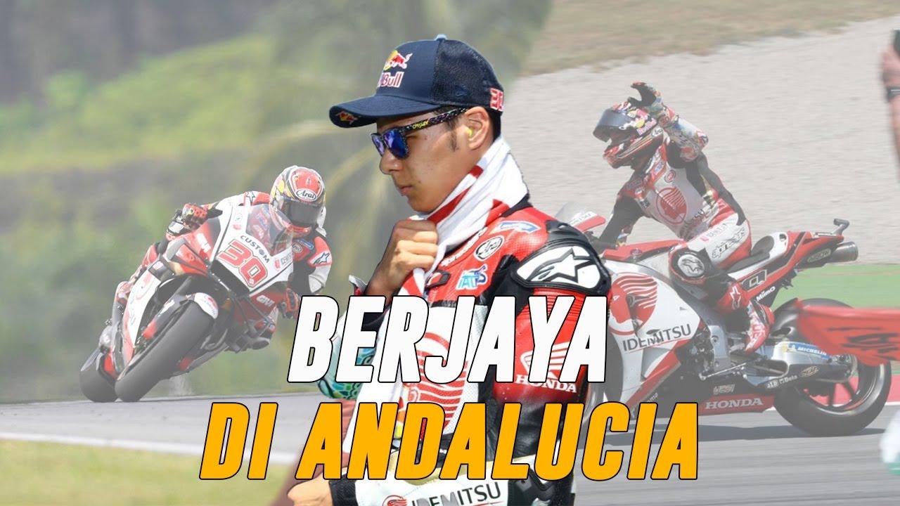 Rahasia Takaaki Nakagami Bisa Tampil Impresif di GP Andalusia