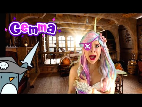 We're Going on a TREASURE Hunt! | Pirate Songs and Games | Unicorn Princess Gemma |