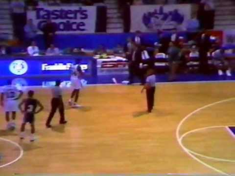 East Tennessee State vs Xavier - December 1991 College Basketball Game