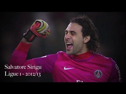 Salvatore Sirigu Compilation   Paris Saint-Germain 2012-13