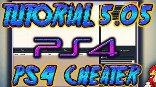 Tutorial cheat trainer ps4 hen 505